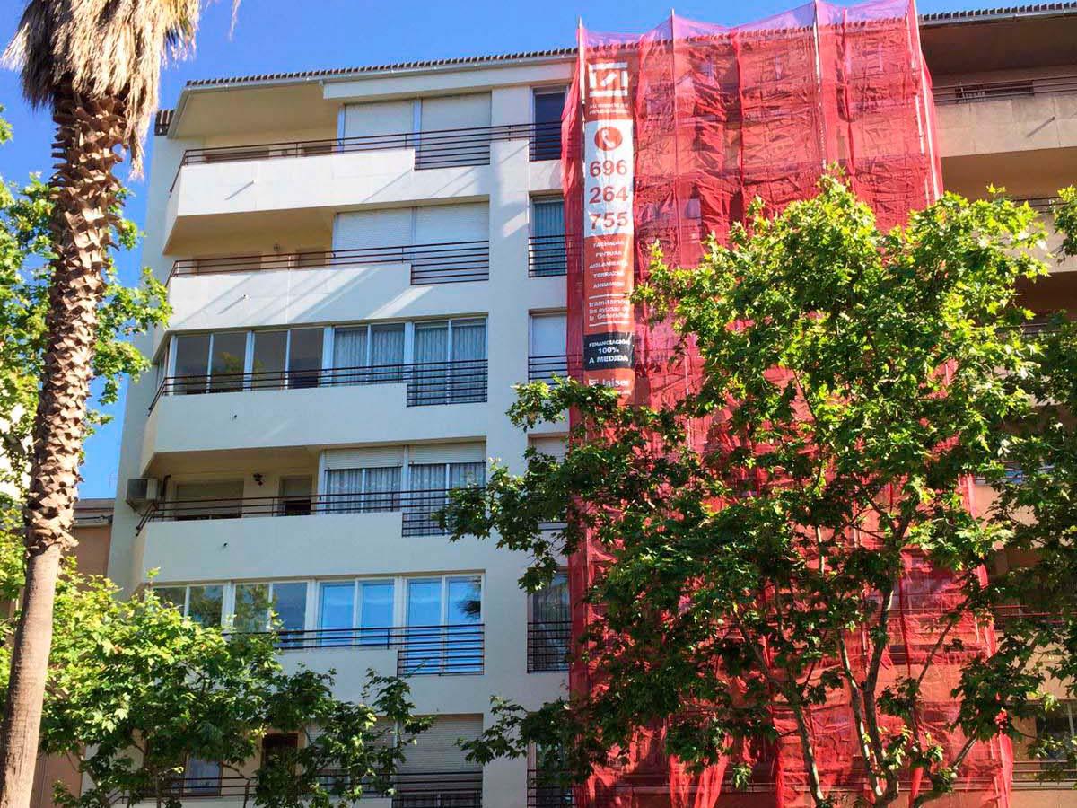 Proyector de rehabilitación barcelona Abat Marcet 233 Terrassa img1a